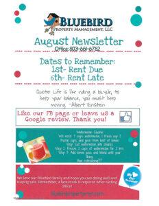 2020-August-newsletter-bluebird