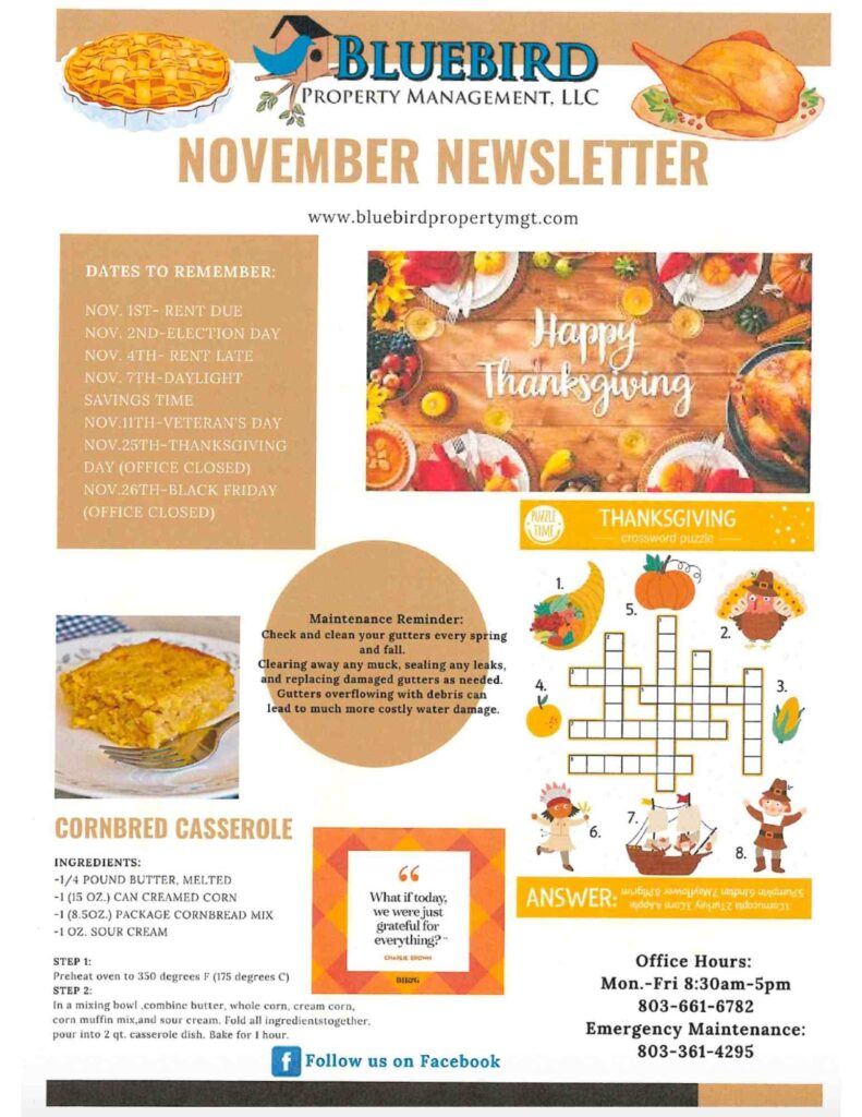 2021 november Newsletter-BluebirdProperty